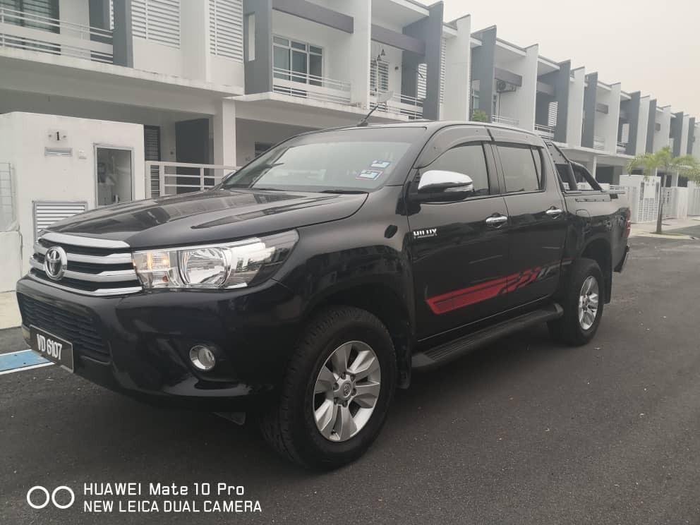 New Toyota Hilux Revo 2.4 (A) 4x4 Pickup Truck Sewa  Selangor KL