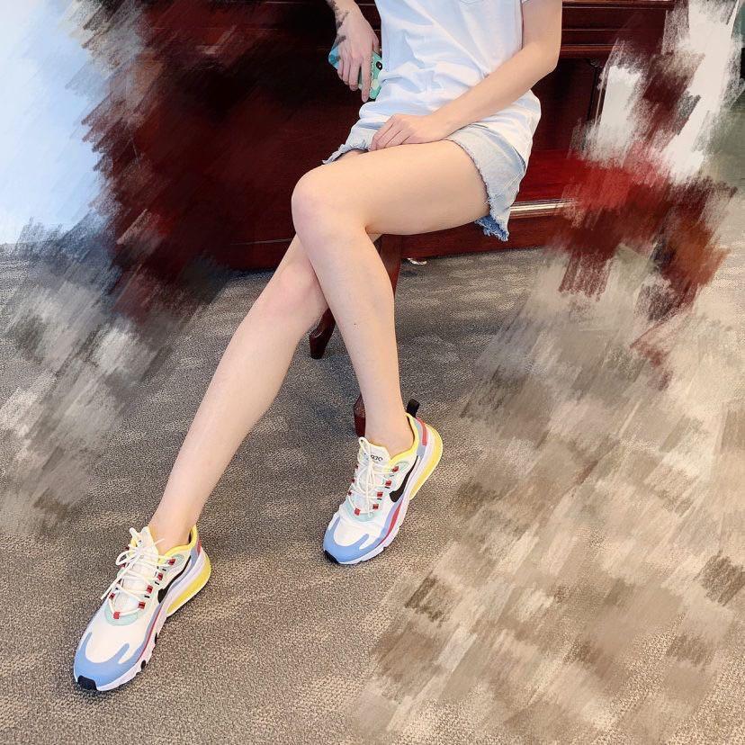 🔥🔥Nike耐克氣墊男鞋女鞋Air Max 270 React運動跑步休閑板鞋 老爹鞋 情侶鞋