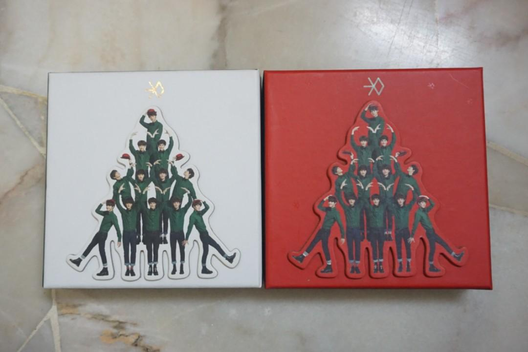 [OFFICIAL] EXO- Winter Special Album [Miracles In December] -2 versions