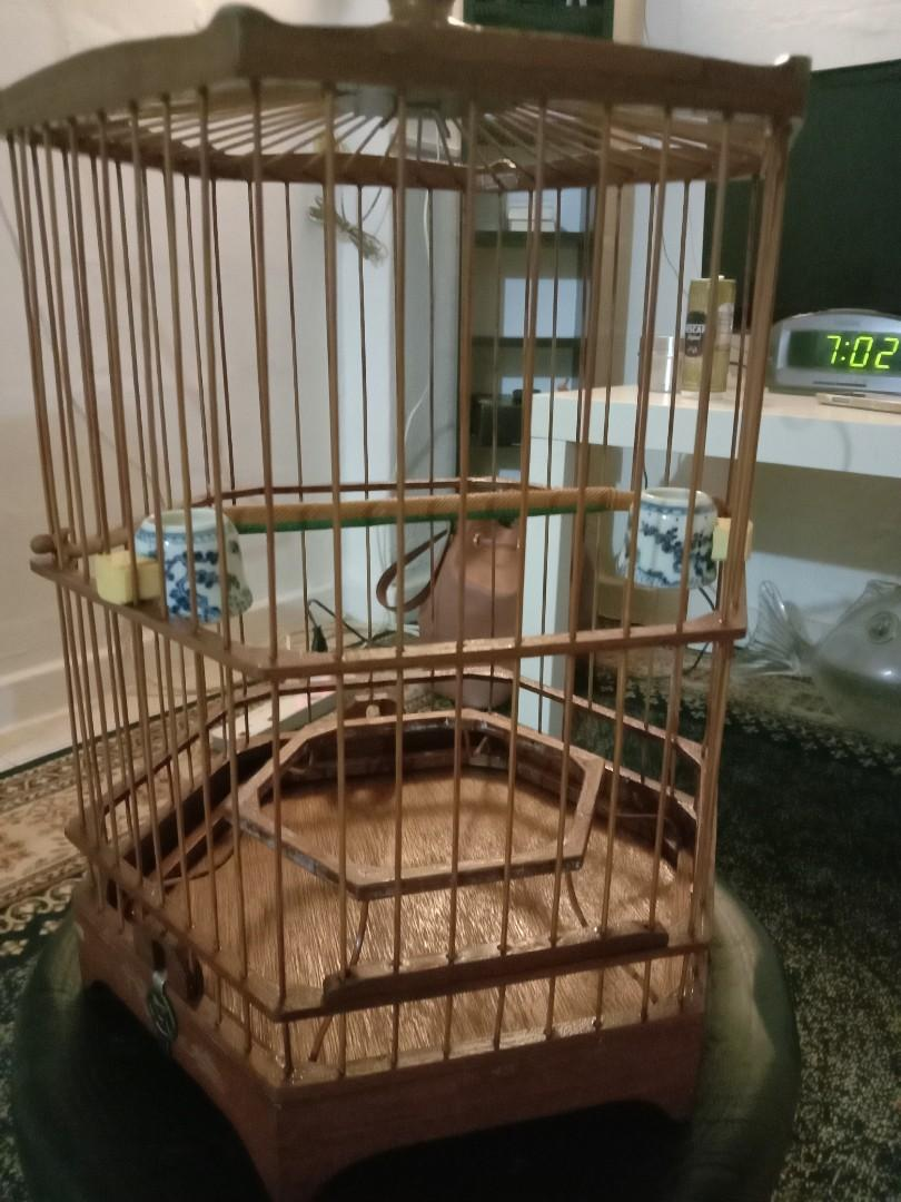 Old Canary Cage