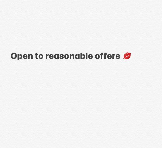 Open to offers ❤️