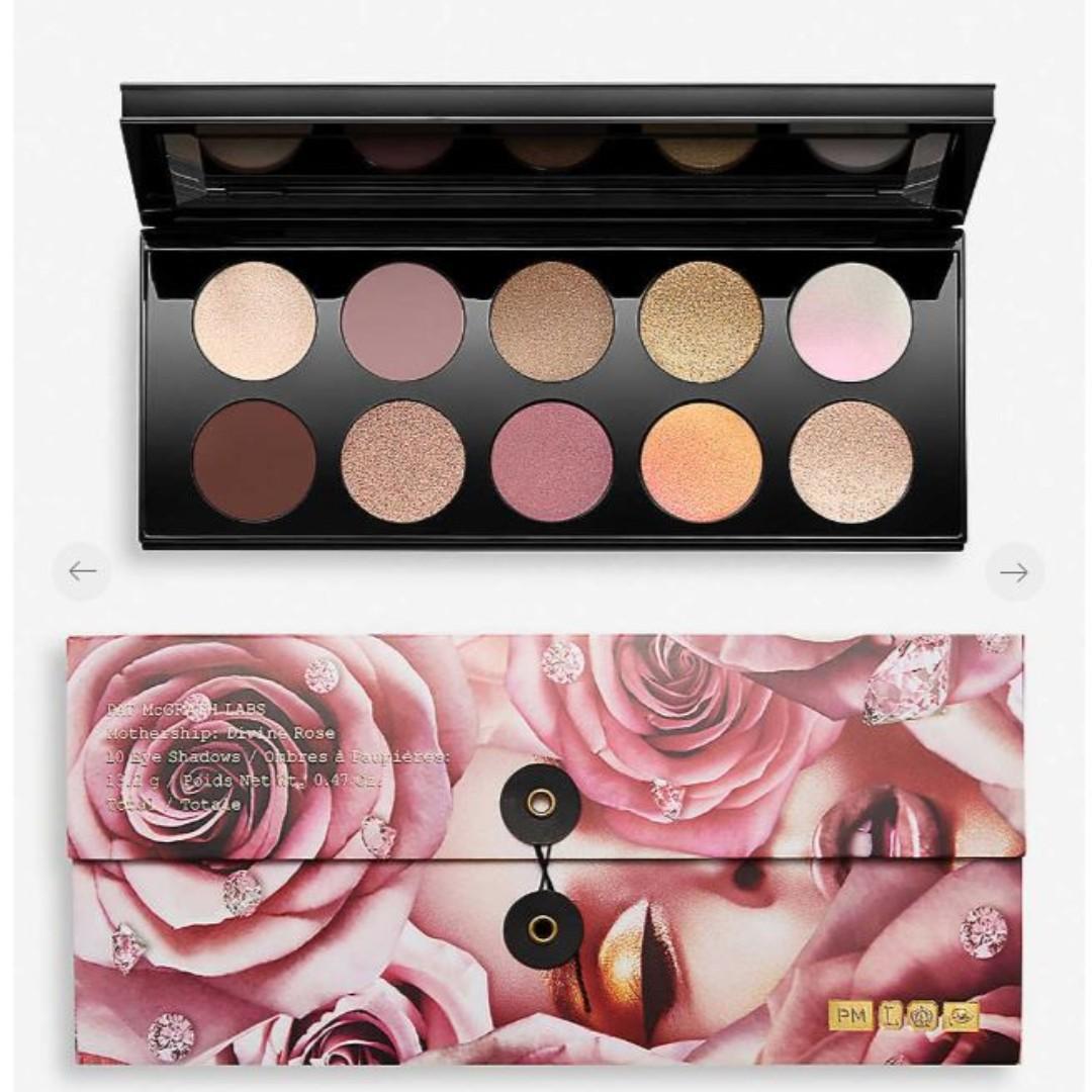 PAT MCGRATH LABS Mothership VII: Divine Rose eyeshadow palette 13.2g