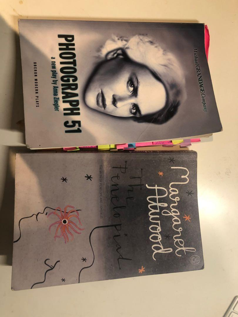 Photograph 51 and The Penelopiad novel and insights bundle