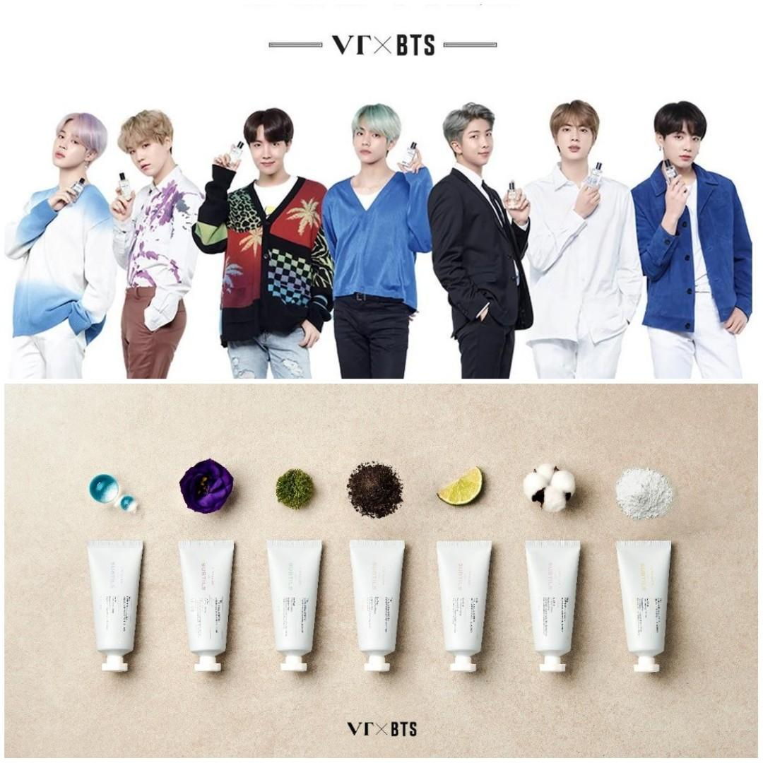 [PREORDER] VT Cosmetics x BTS Perfume/Hand Cream & More Highlights Shopping Service (30/11-1/12)