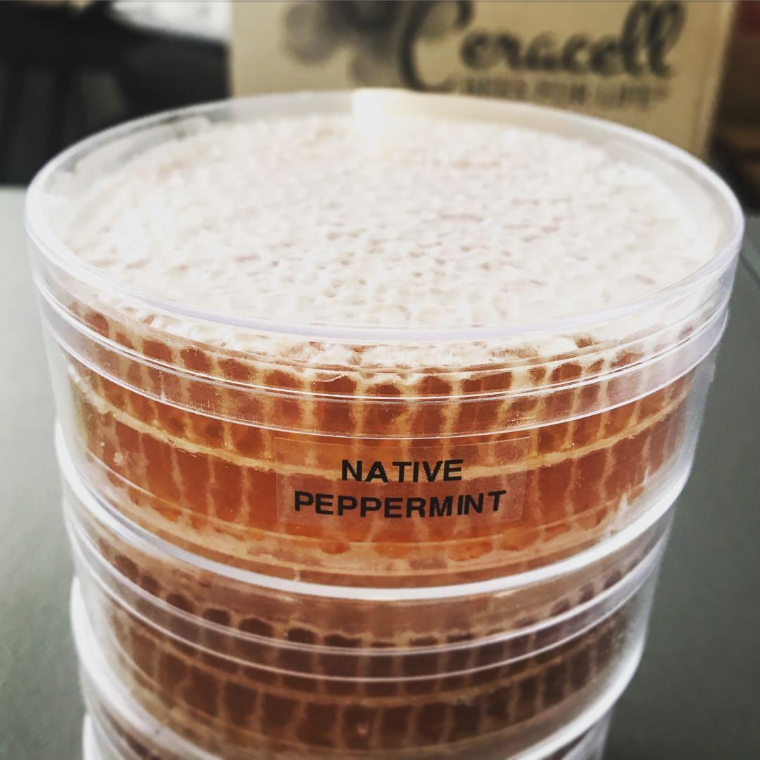 Pure honeycomb straight from the hive. Minimum weight 225g