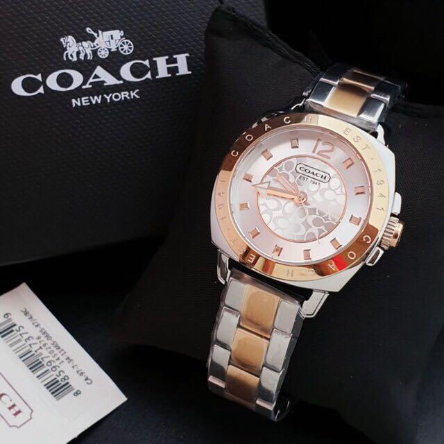 Ready stock bisa gojek Coach watch