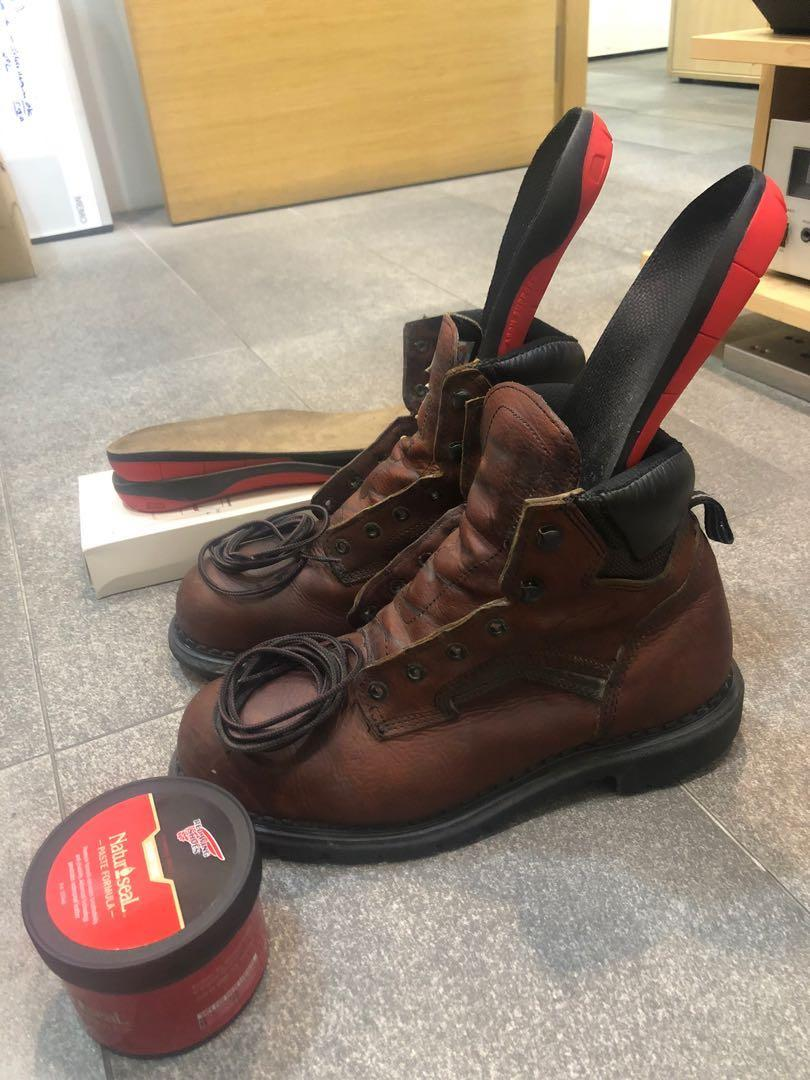 Red Wing Safety Boot Steel Toe