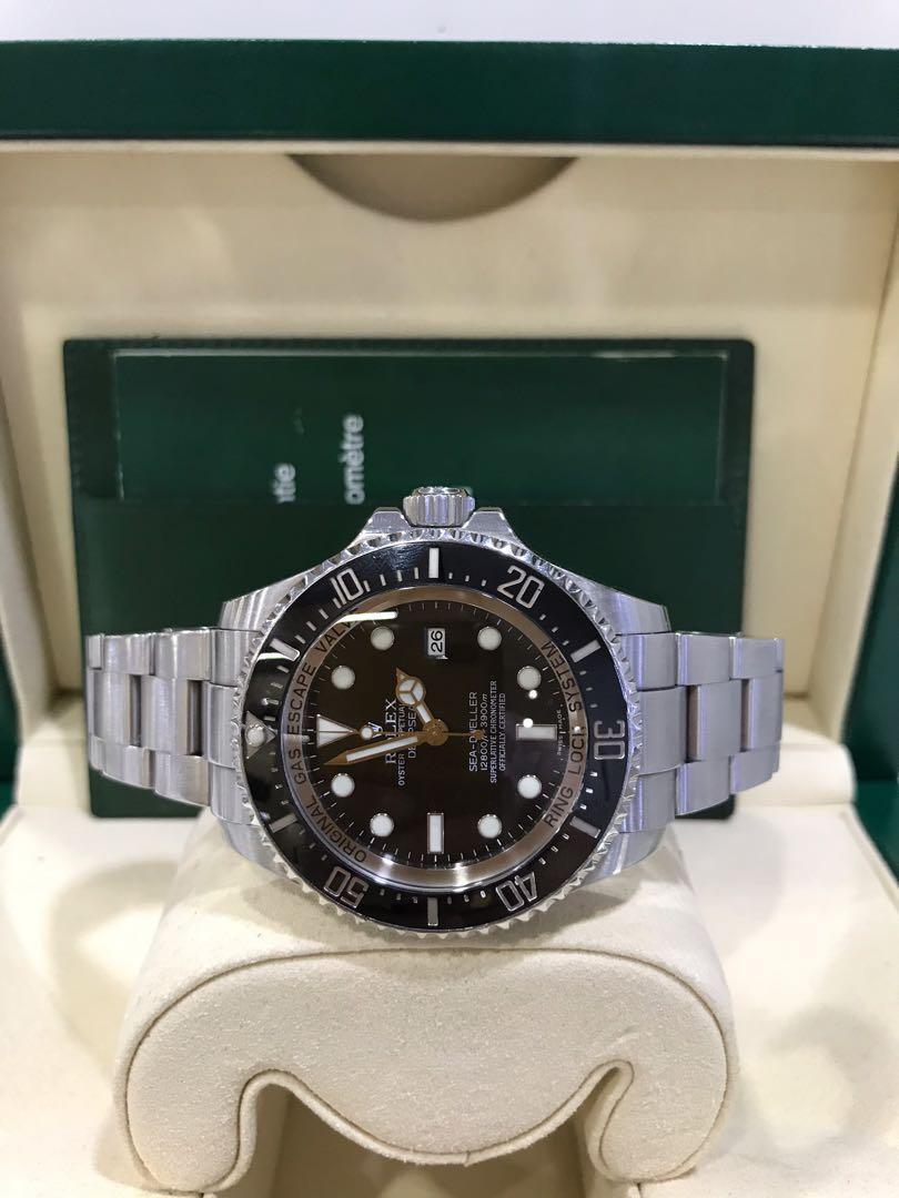 Rolex Sea-Dweller Deepsea Steel 116660 Black 44mm(Pre-Owned)