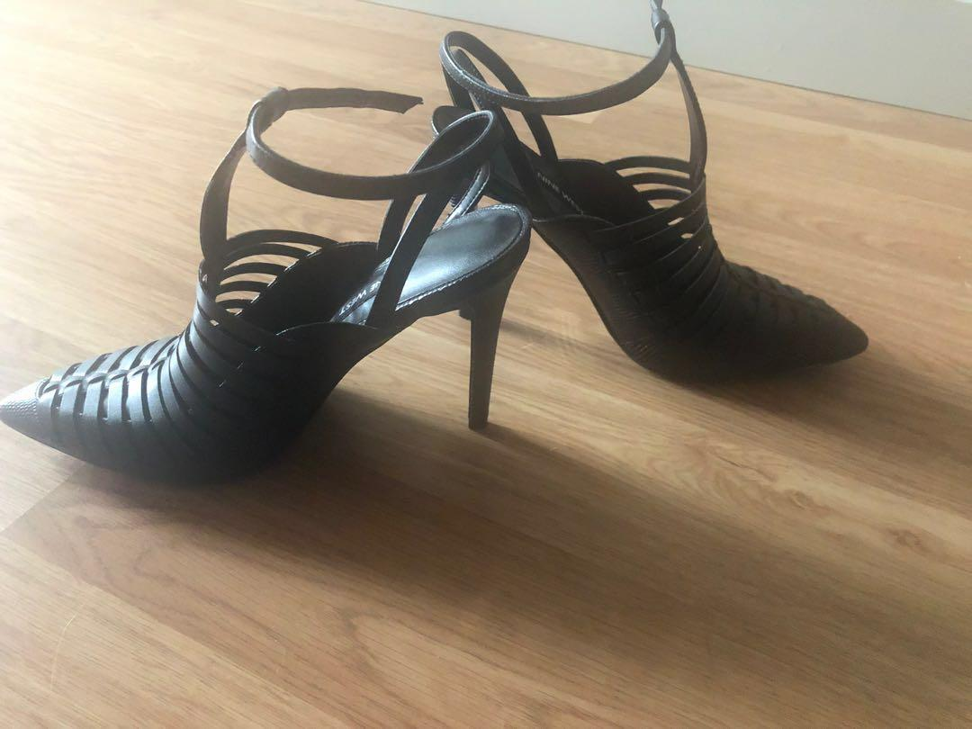 RRP $170 Brand New in Box Nine West Woven Point Toe Heel 6.5