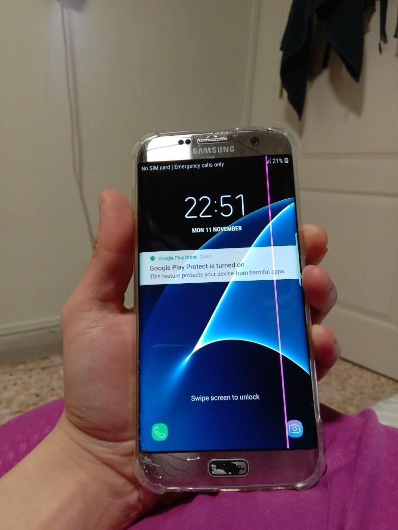 Samsung S7 Edge (no nego)