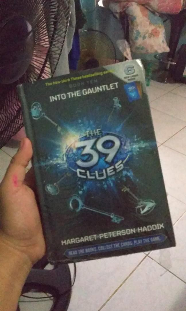 SEALED HARDBOUND The 39 Clues Book Ten: Into the Gauntlet by Margaret Peterson Haddix