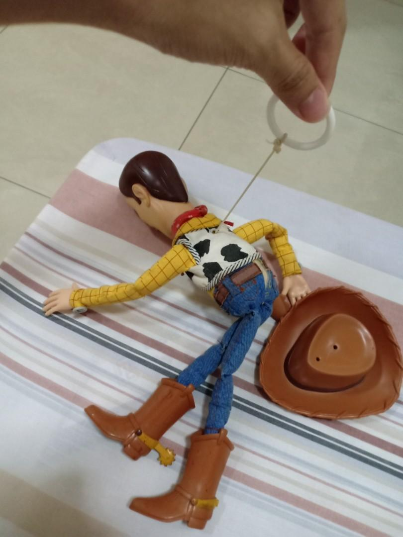 Sell very rare vintage woody doll toy story hasbro 2001