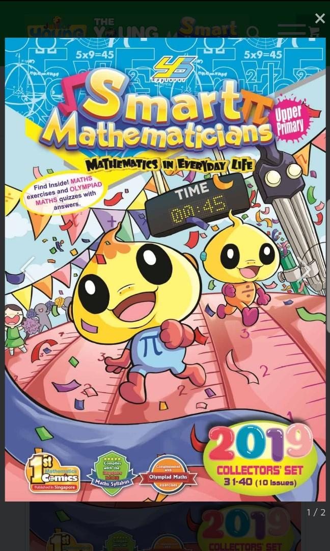 Smart mathematicians upper and lower primary