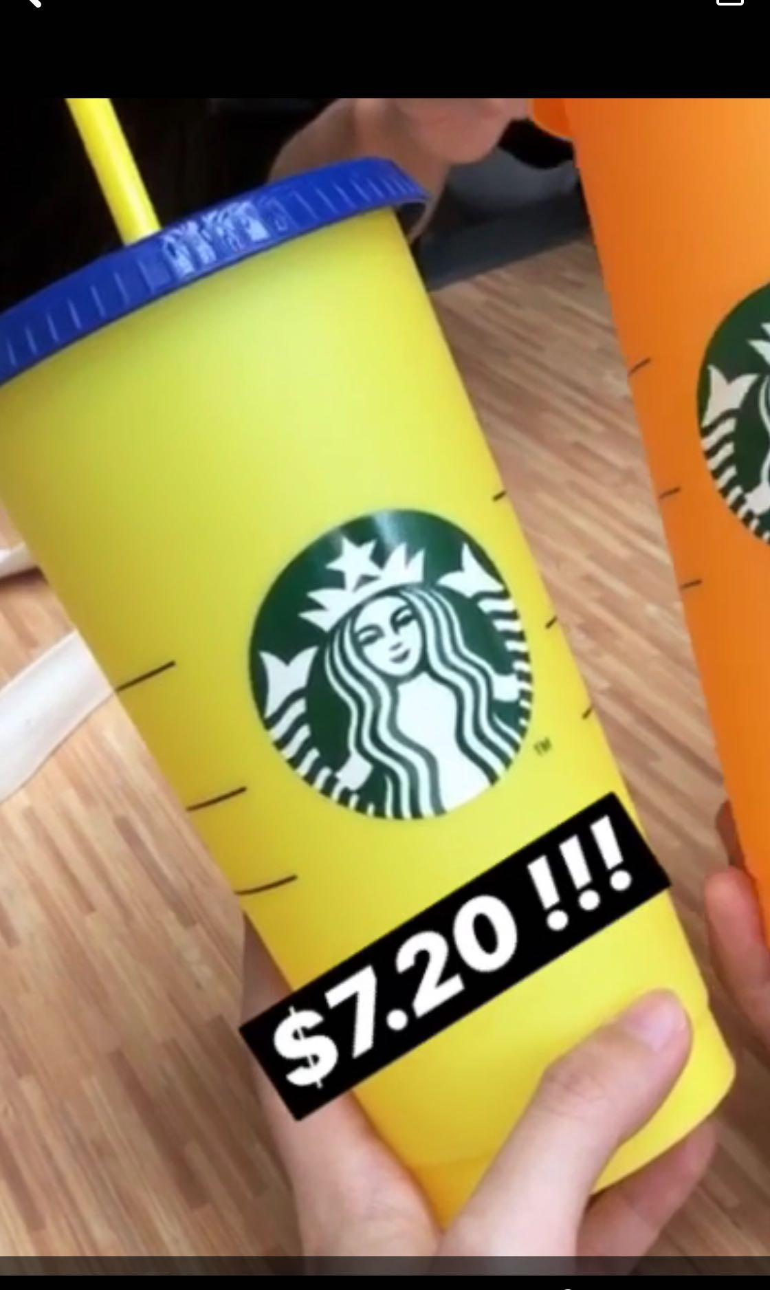 Starbucks Colour Changing Cup