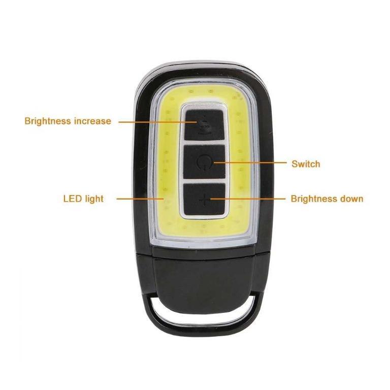 TaffLED Senter LED Model Kunci Mobil COB 450 Lumens - WY8118-ZL TItanGadget