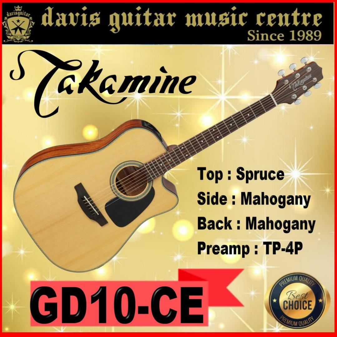 Takamine GD10CE Acoustic / Electric Guitar