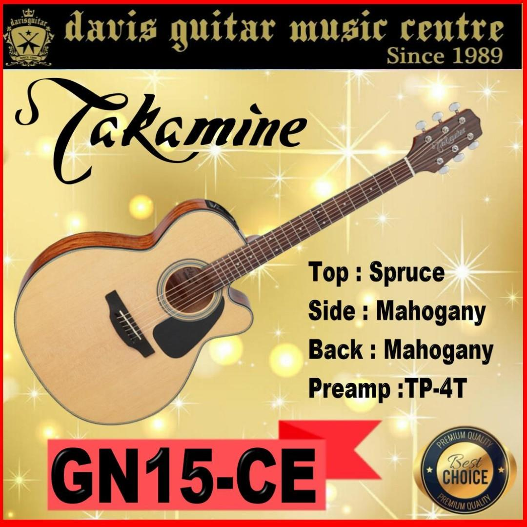 Takamine GF15CE natural Acoustic / Electric Guitar