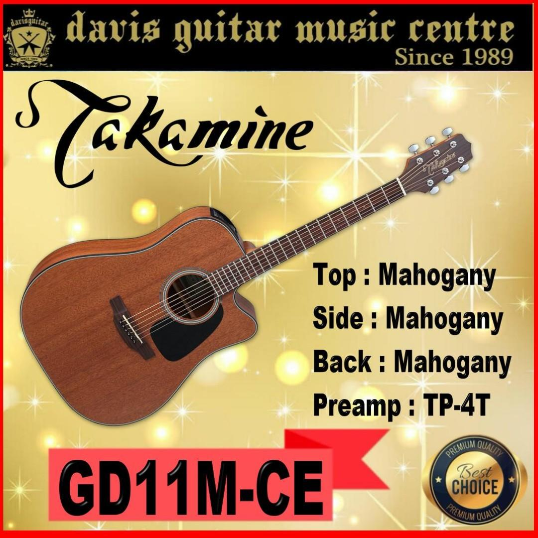 Takamnie GD11MCE Acoustic / Electric Guitar