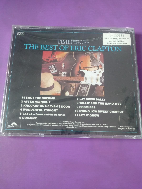 The Best Of Eric Clapton 美版 早期 全新