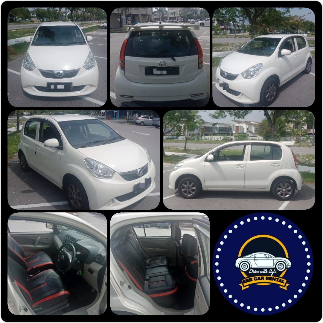 Tip Top Perodua Myvi 1.3 (A) Kereta Sewa Murah Selangor KL
