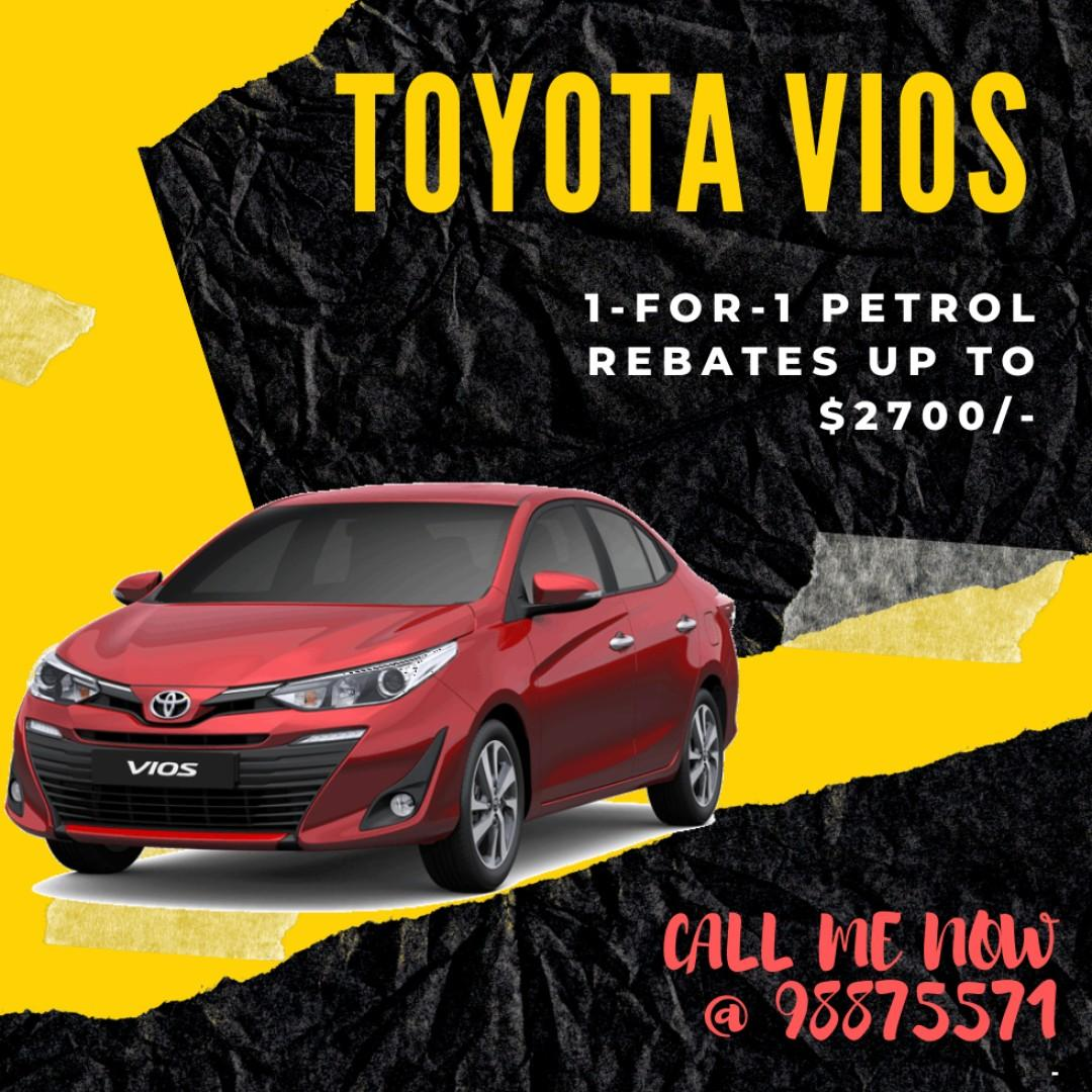 Toyota Vios (2019 registered car)