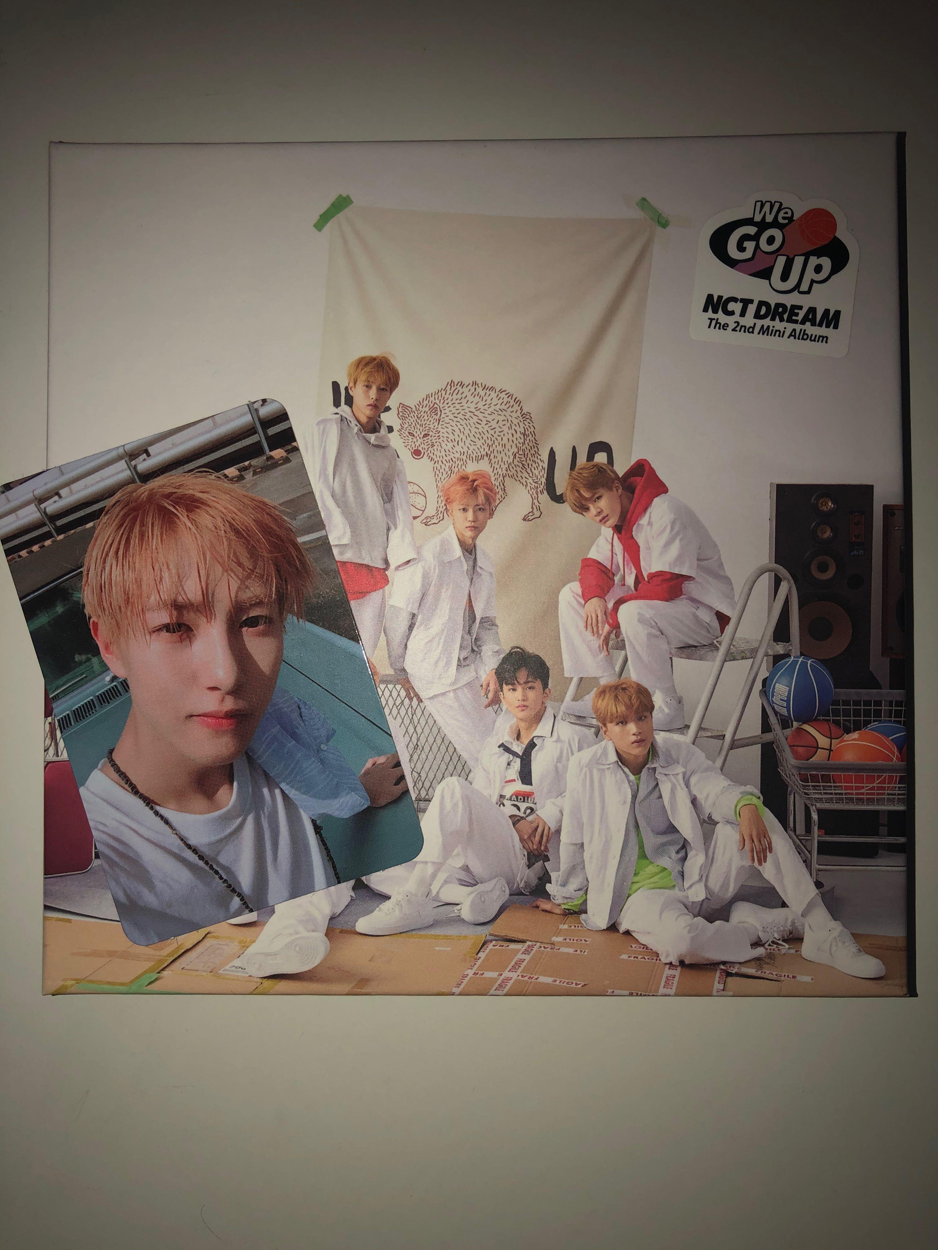 We Go Up- Nct Dream The 2nd Mini Album  (Full Set)