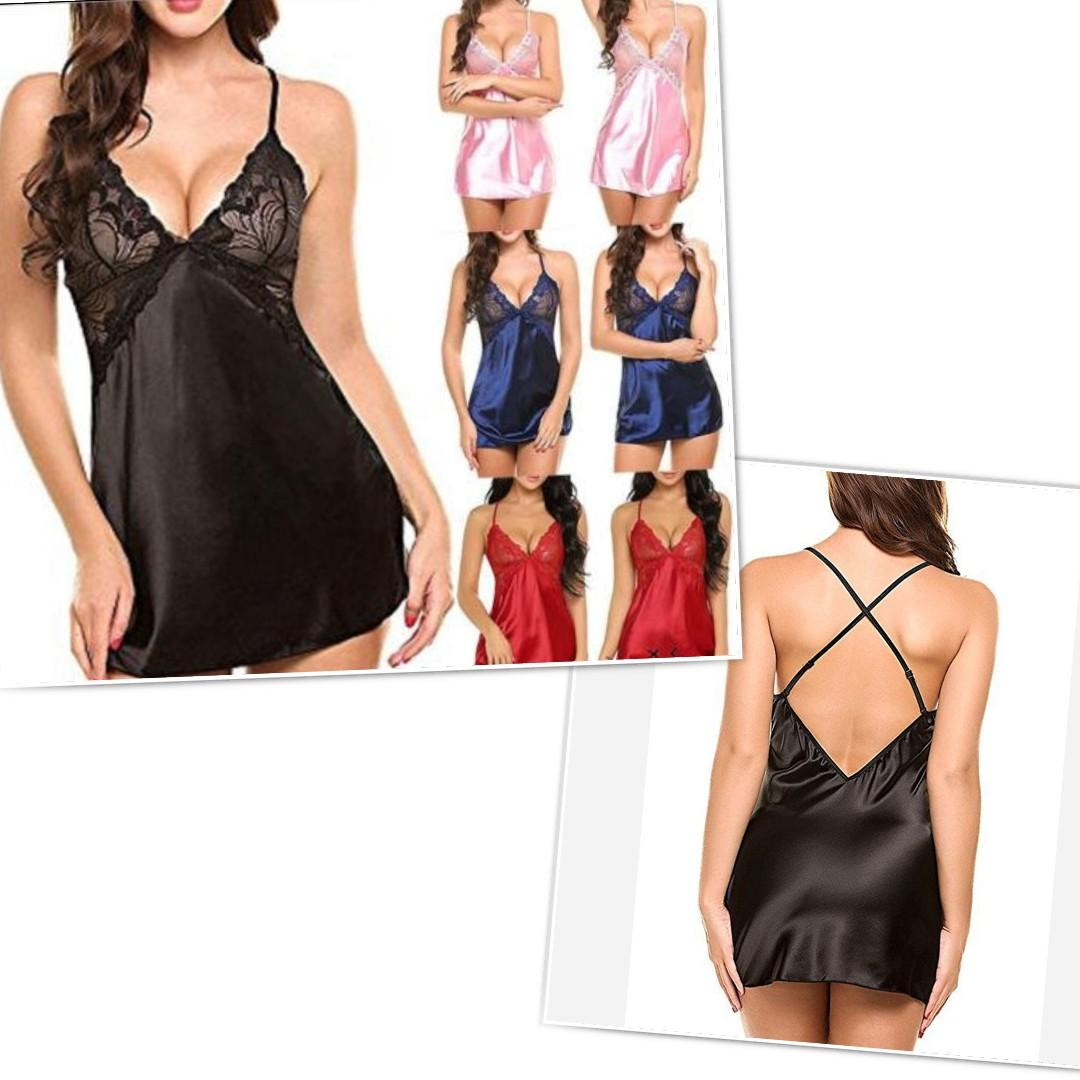 Women Lingerie dress nightwear sleepwear