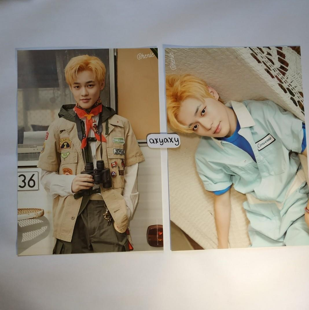 [WTS] NCT Dream Summer Vacation Kit A4: Chenle set