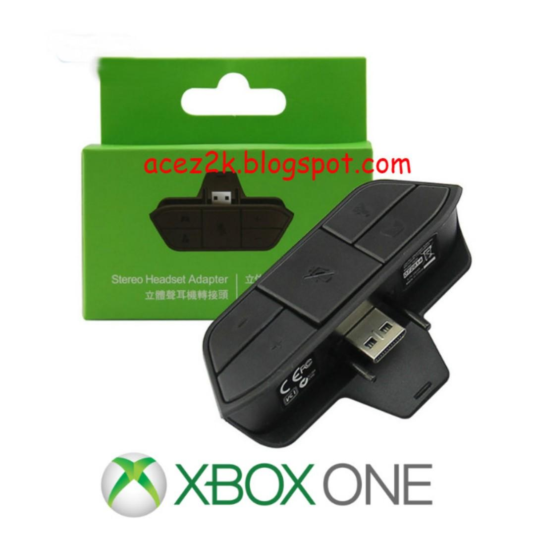 Xbox One Controller Stereo Headset Adapter