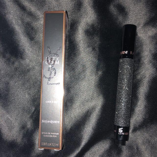 Yves saint Laurent YSL black opium click and go perfume pen