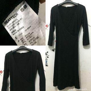 UNIQLO dress hitam original