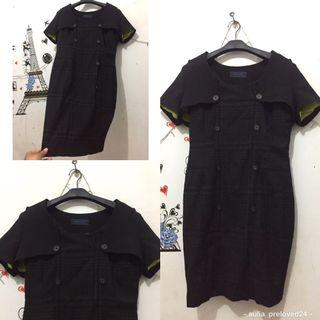 [likenew]dress hitam cantik bNget