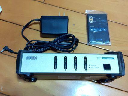 4 port DVI 切換器