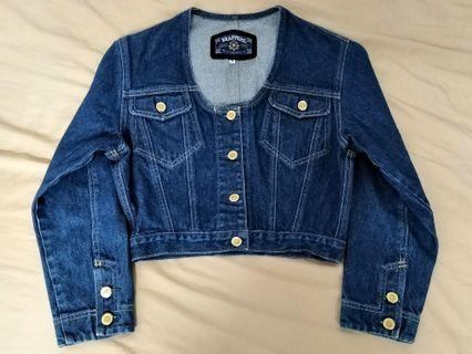 Brappers denim crop jacket #1111