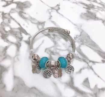 超美~潘朵拉風-不銹鋼手環