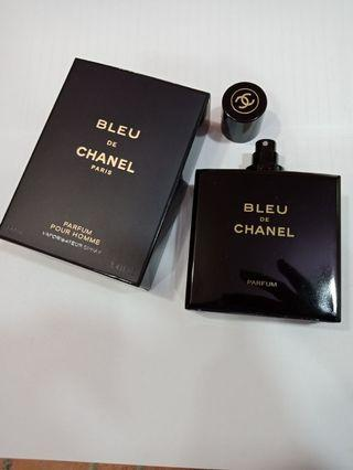 SALE BLEU DE CHANEL PARFUM ORIGINAL BOX