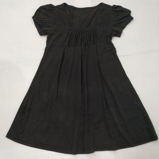 Slim Look Black Dress