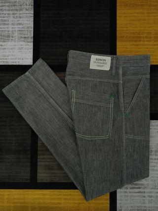 EDWIN DUNGAREE COTTON X BANANA RELAXED FOLDABLE PANTS SELUAR