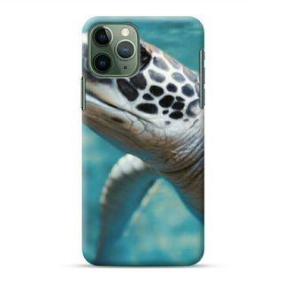 Turtle Underwater iPhone 11 Pro Max Custom Hard Case