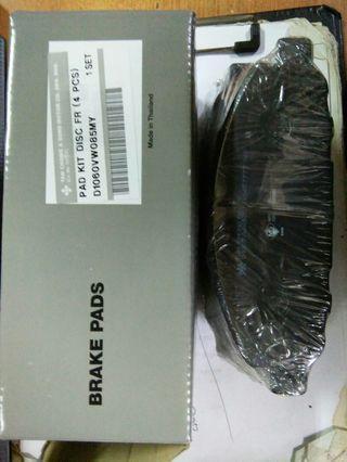 [ORIGINAL] Urvan E25 Front Brake Pad Set (Tanchong)