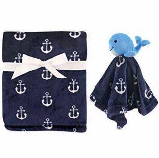 New - Hudson Baby (US Brand) Whale Blanket #1111special
