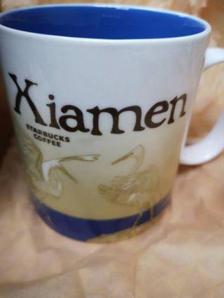 【迦南美地】 Starbucks 星巴克 廈門 星巴克杯 城市杯 紀念杯 馬克杯  Xiamen