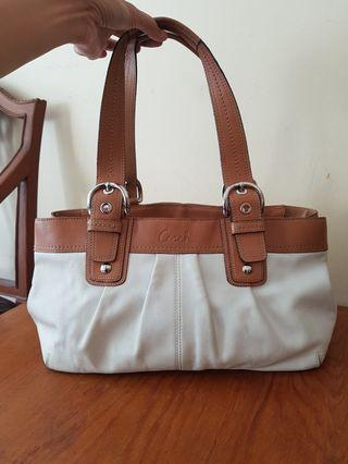 Coach totebag leather