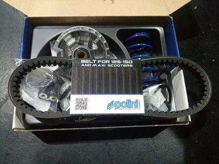 Piaggio MP3 125 06-15g Polini Variator Roller Set 19x17mm