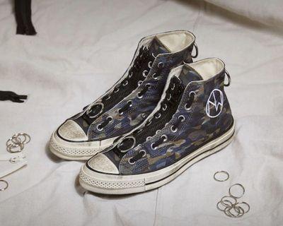 CONVERSE Chuck 70 OX x UNDERCOVER 聯名款 高筒帆布鞋[英國代購]