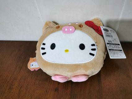 Hello Kitty Sling Bag Plush Soft Doll Toy Patung With Tag Japan Sanrio Characters