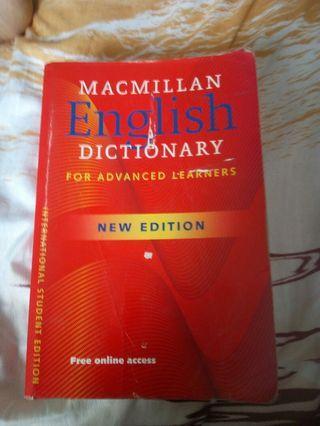 DICTIONARY ENGLISH AND MALAY