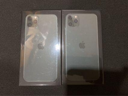 Iphone 11 pro max 64GB Midnight Green (Belum aktifasi)