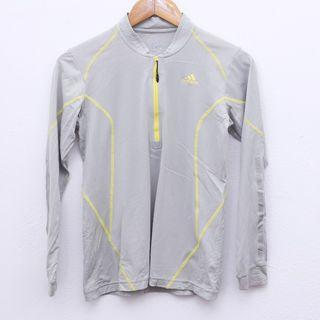 Size M ADIDAS Tight Top in Grey Pit 17