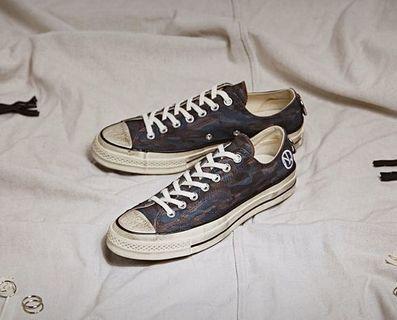 Converse x Undercover Chuck 70 Low To 鞋 低筒聯名帆布鞋[英國代購🇬🇧]